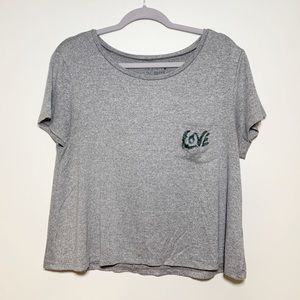 American Eagle Soft and Sexy Love Top